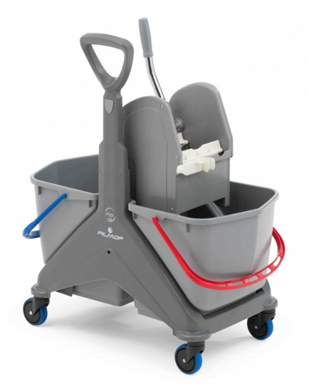 ONEFRED - plastic trolley 50 L with plastic grip